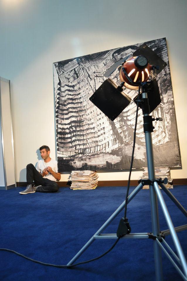 VINCENZO GROSSO Dal 27.08 al 01.09 2014 il Museo MURATS CONVERGENZE MISSION RESIDENZA ARTISTICA per TESSINGIU