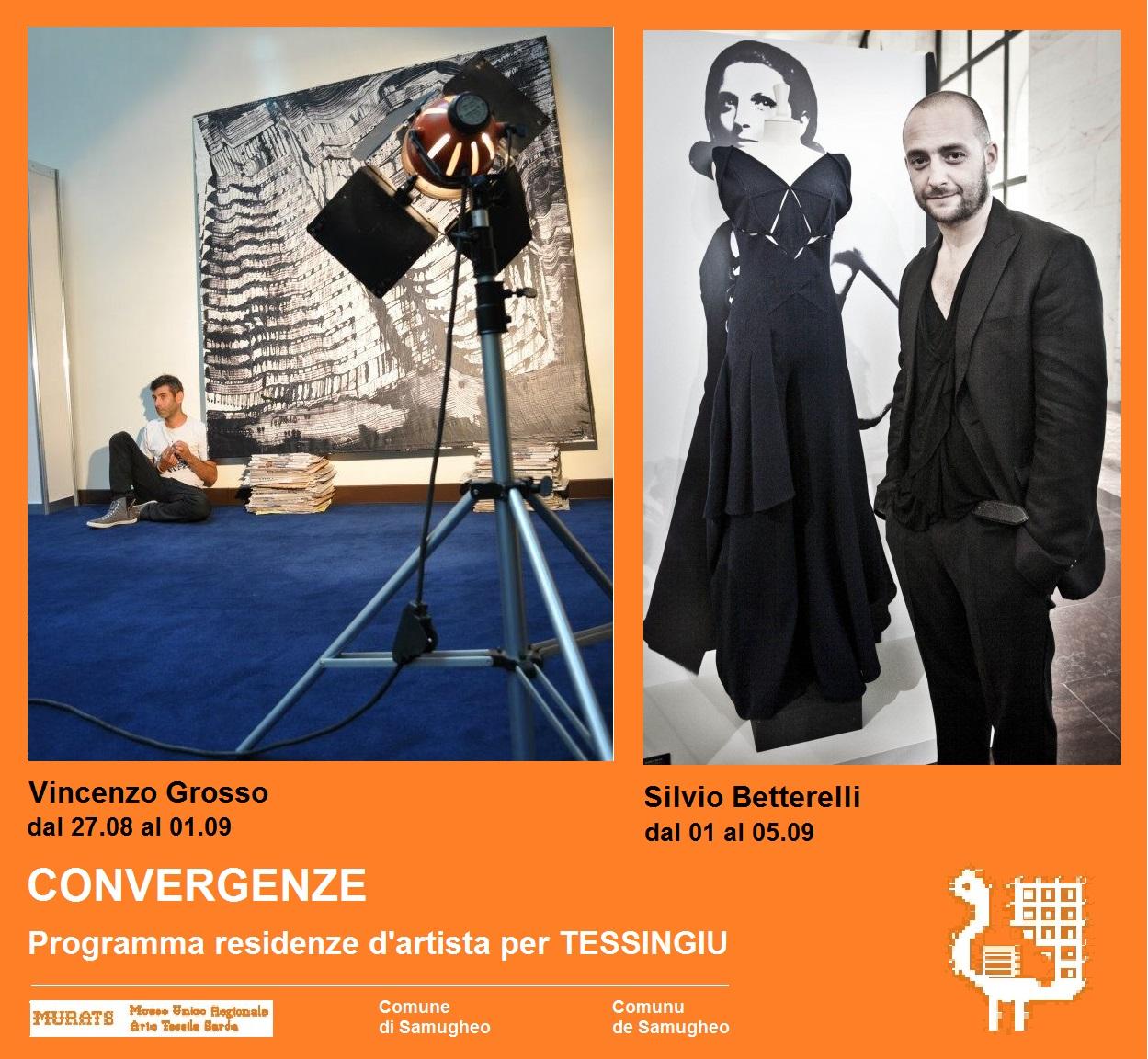 Il Museo MURATS e il Comune di Samugheo presentano: CONVERGENZE_Progetto residenza d'artista per TESSINGIU_2014