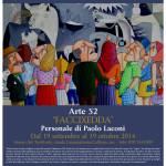 """Personale di Paolo Laconi dal 19 settembre al 19 ottobre 2014 Museo naturalistico del territorio """"G. Pusceddu"""""""