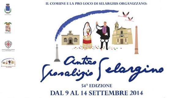 Antico Sposalizio Selargino 54^ Edizione dal 9 al 14 settembre 2014