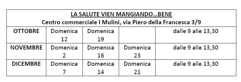 Coldiretti Cagliari finalmente Campagna Amica per otto domeniche dal 12 ottobre al 21 dicembre dalle 9.00 alle 13.30 nel Centro commerciale I Mulini.