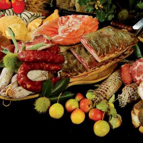 Cortes Apertas 2014 a Desulo prodotti tipici Sardi
