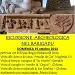 GITA ARCHEOLOGICA NEL BARIGADU DOMENICA 19 OTTOBRE 2014.