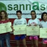 Convention nazionale della Kombat League a Bologna premiazione di 9 atleti Isolani che si sono distinti nel 2014.