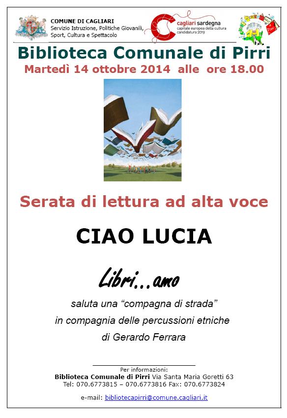 Libri-amo biblioteca comunale Pirri