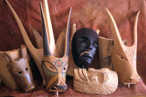 Maschera dei Boes e Merdules