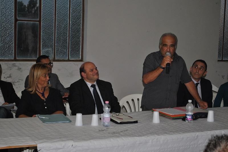 Sassari incontro Palmadula ottobre 2014, Il sindaco Nicola Sanna e la sua giunta incontrano a Palmadula i cittadini delle frazioni.
