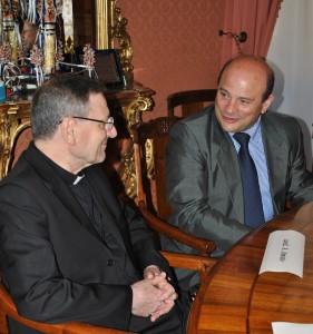 Sassari_visita di cardinale Angelo Amato a Palazzo Ducale_2