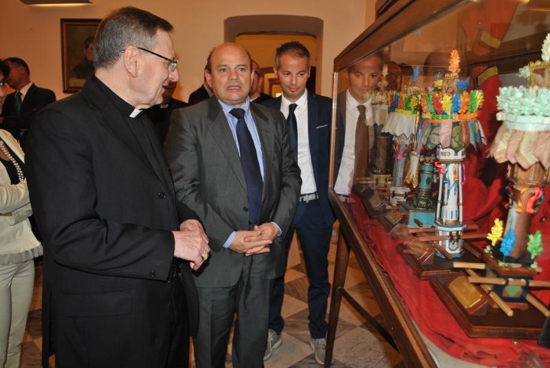 Sassari_visita di cardinale Angelo Amato a Palazzo Ducale_5