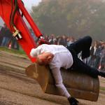 Carbonia Grande Miniera di Serbau giovedì 23 ottobre 2014 da non perdere la performance di danza Transports Exceptionnels.