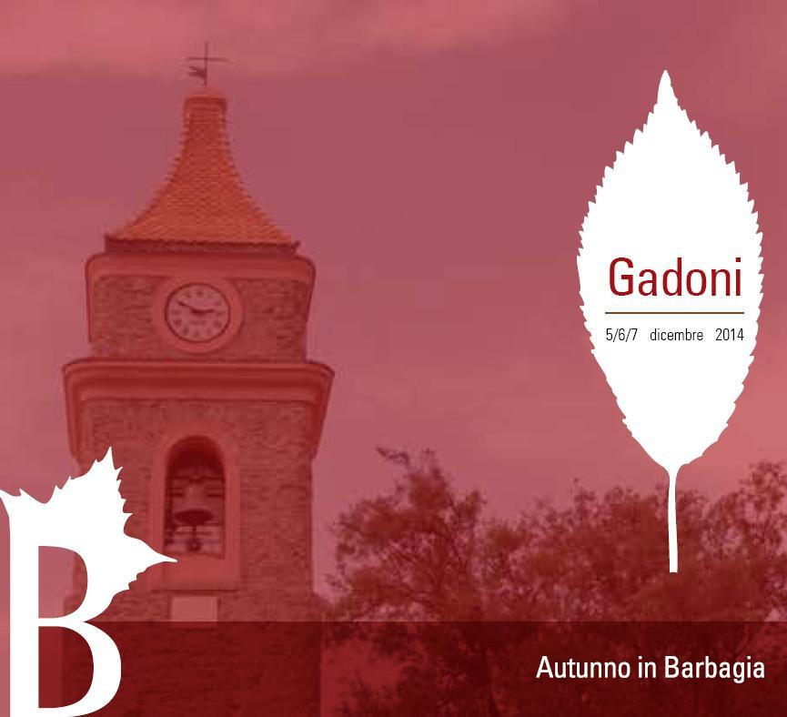Cortes apertas a Gadoni 5 6 7 dicembre 2014, Autunno in Barbagia a Gadoni dicembre 2014