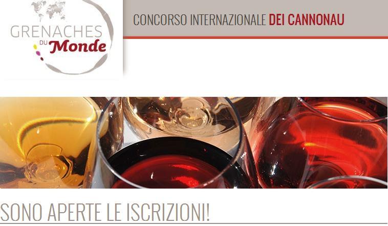 Grenaches du Monde Concorso internazionale dei Cannonau sono aperte le iscrizioni