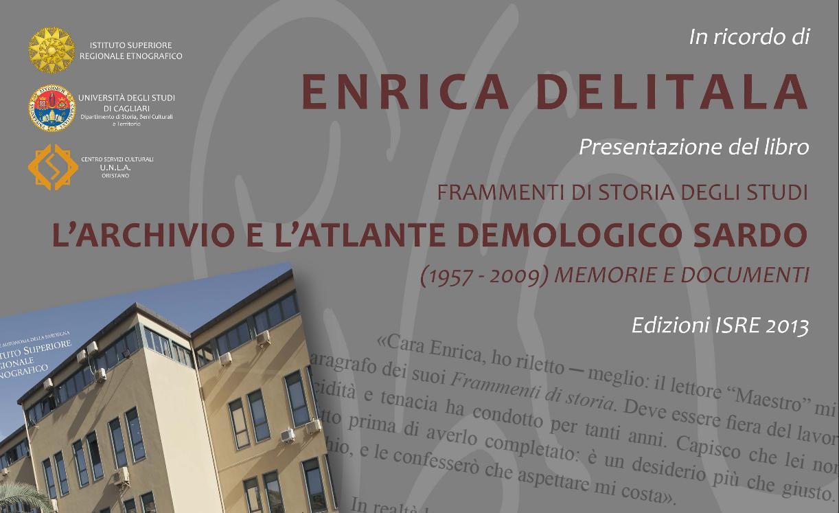 ISRE presentazione del Libro di Enrica Delitala
