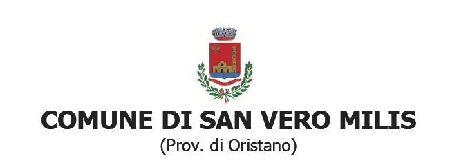 San Vero Milis comunicato stampa comune