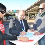La solidarietà del sindaco di Sassari Nicola Sanna ai lavoratori Meridiana.