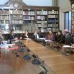 Roma tra i comuni della Rete delle grandi macchine a spalla si è discusso di un piano di salvaguardia ed Expo 2015, il sindaco di Sassari Nicola Sanna presente all'incontro.