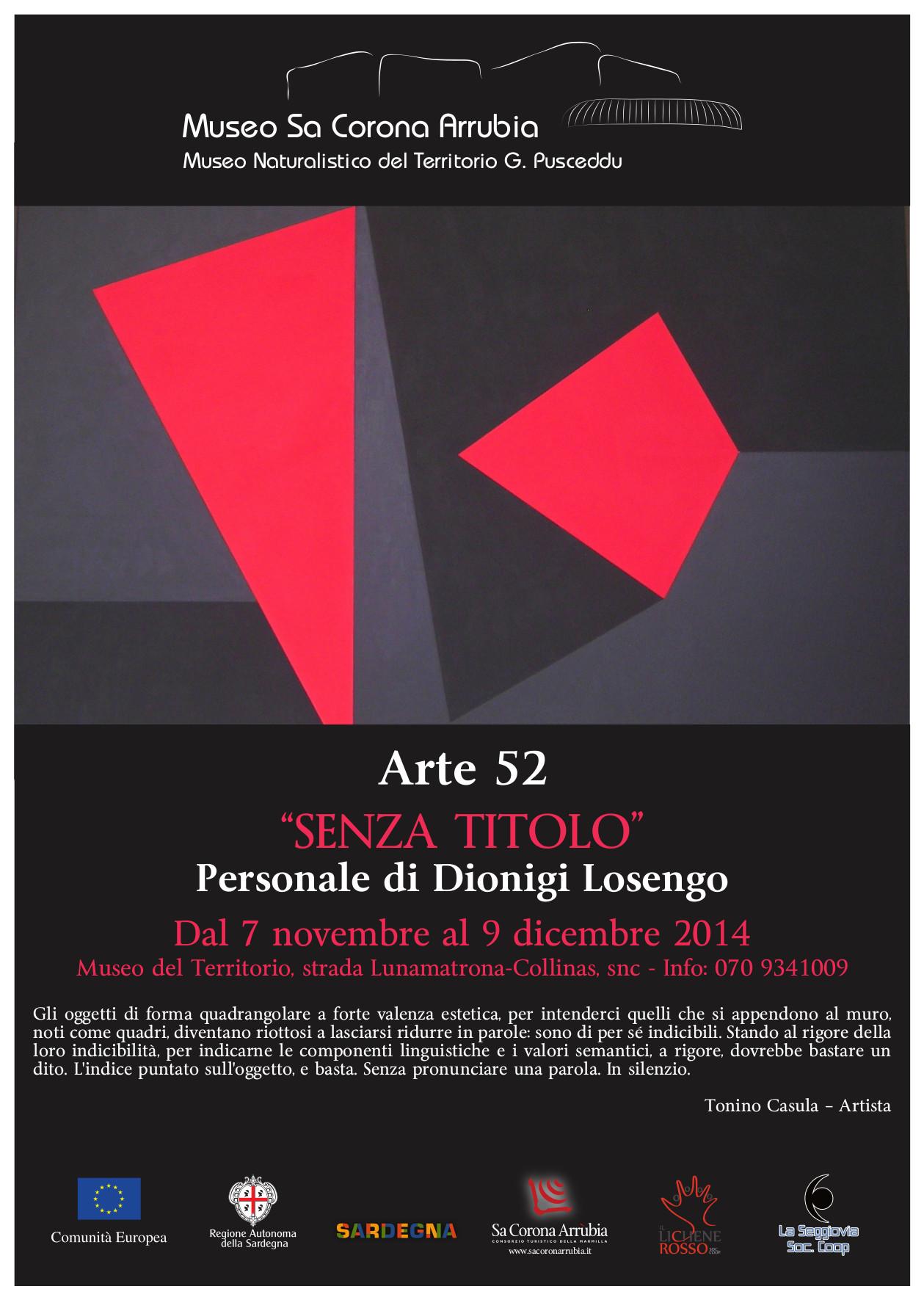 Personale di Dionigi Losengo
