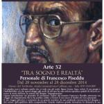 """Personale di Francesco Piseddu dal 28 novembre al 28 dicembre 2014 Museo naturalistico del territorio """"G. Pusceddu""""."""