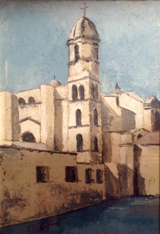 GESUINO CAULI Pittore Sassarese. Nato a Sassari il 19 febbraio 1946 in via Amsicora nel cuore della città vecchia.