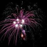Oggi  lunedì 14 agosto 2017 fuochi d'artificio per i 132 anni di Stintino