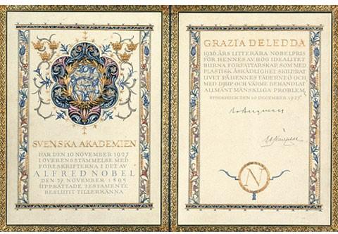 Il 10 dicembre 1927 l'Accademia svedese le conferisce il premio Nobel per l'anno 1926.