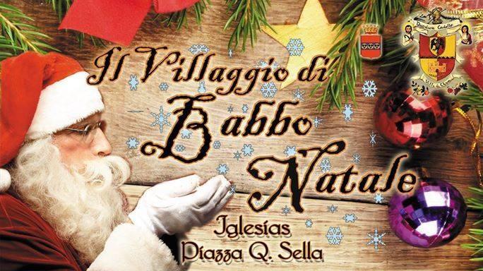 Il Villaggio di babbo natale Iglesias 2014