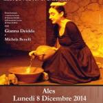 Ales lunedì 8 dicembre 2014 Intervista con Maria spettacolo non-spettacolo tratto dal libro omonimo dell'antopologa Clara Gallini.