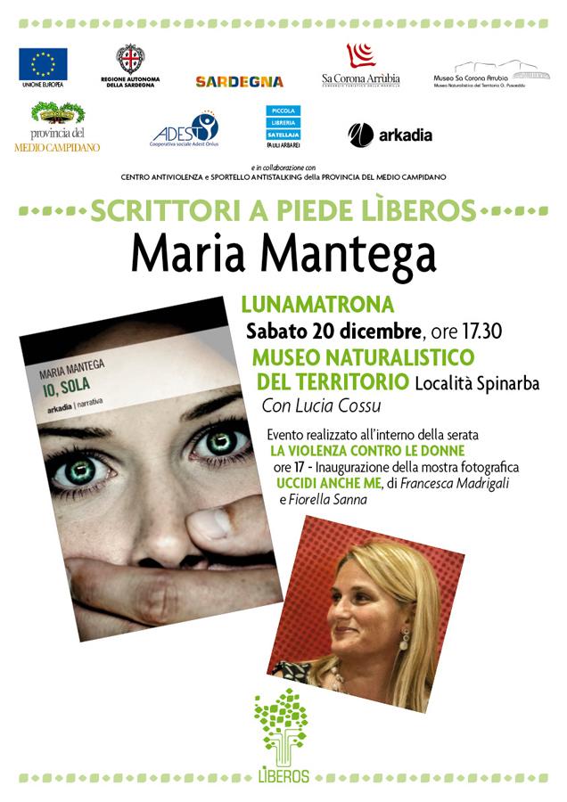 """Museo Naturalistico del Territorio """"G. Pusceddu"""" sabato 20 dicembre 2014 presenta il doppio Evento dedicato al tema LA VIOLENZA CONTRO LE DONNE."""