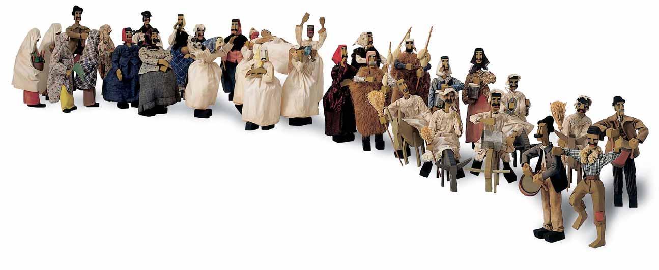 MASCHERATA SASSARESE 1937 di Eugenio Tavolara visitabile al MURATS dal 14 dicembre 2014 al 1 marzo 2015