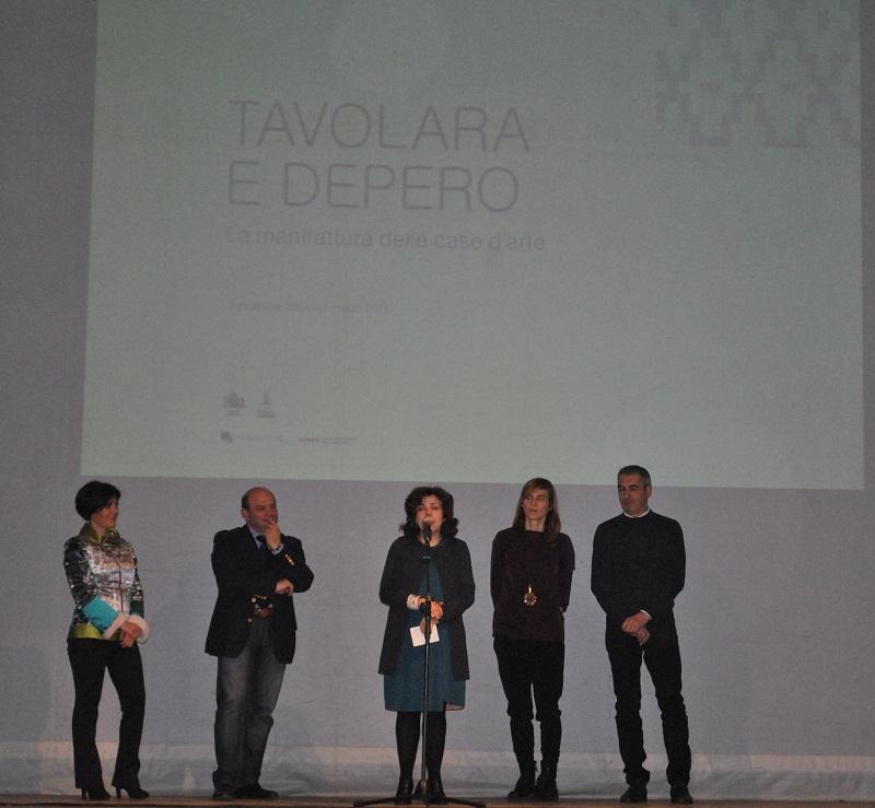 Sassari 13 dicembre 2014 Inaugurazione mostra Tavolara Depero Palazzo di Città Sassari, sindaco Nicola Sanna.
