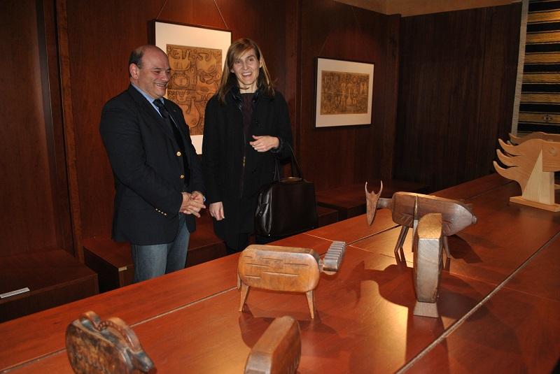 Sassari MostraTavolara Depero Sanna Collu, Sassari Nicola Sanna Caterina Collu, Inaugurata a Sassari Sabato 13 dicembre 2014 la mostra internazionale dei due grandi artisti del Novecento.