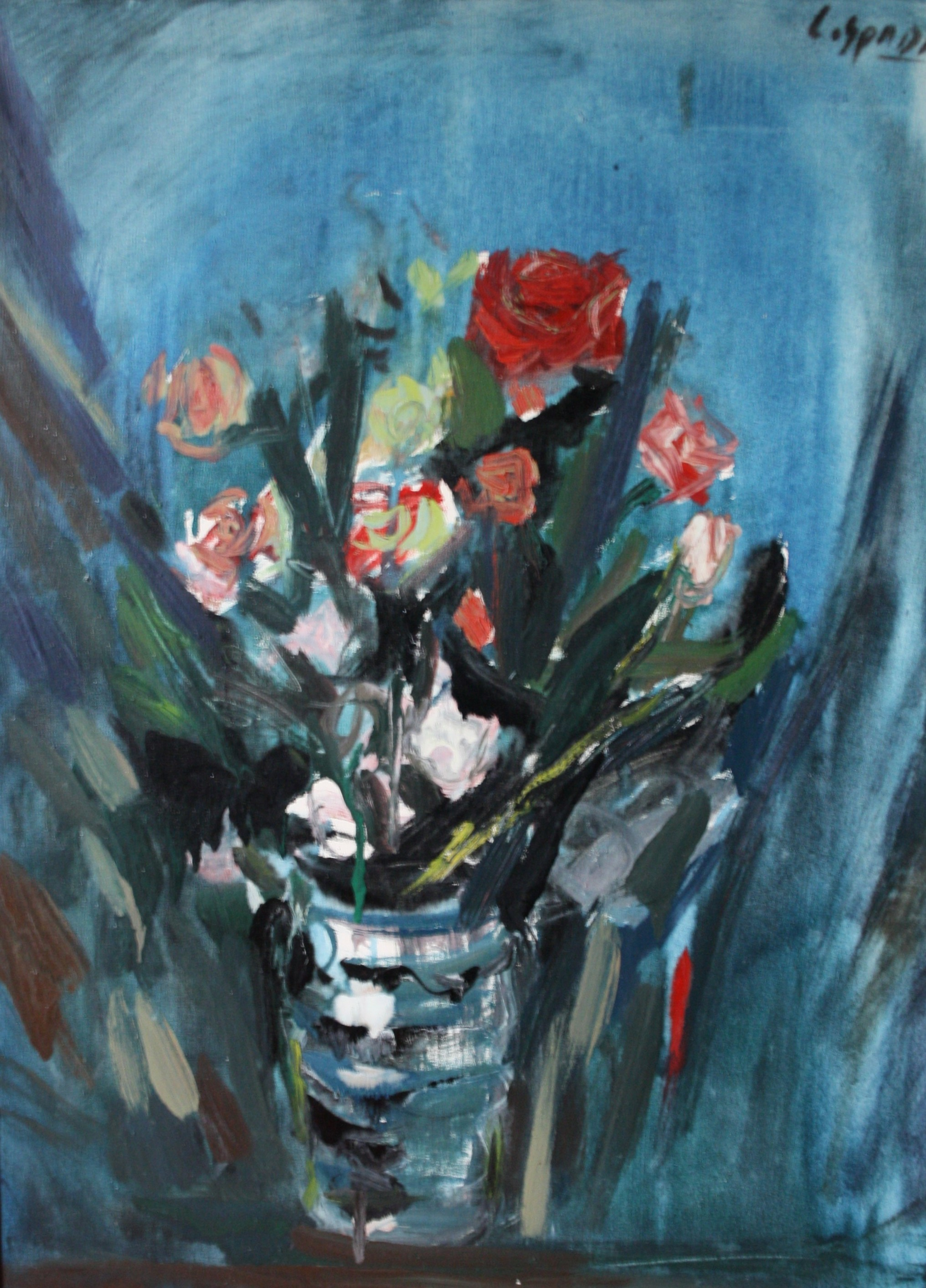 Spada Costantino, olio su tela 50x70, anni 70