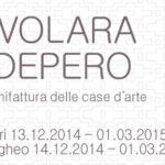 """I Comuni di Sassari e di Samugheo in collaborazione con il Mart di Trento e Rovereto presentano la mostra """"TAVOLARA E DEPERO – La manifattura delle case d'arte"""" dal 13 dicembre 2014 al 01 marzo 2015."""