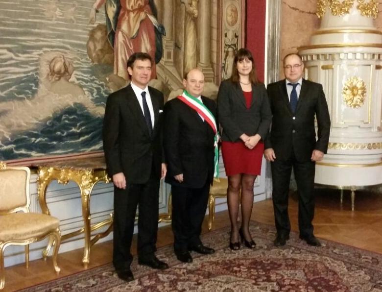 Il sindaco di Sassari, assieme all'assessore Alessio Marras e al capo di gabinetto Giovanni Isetta, ha incontrato anche la deputata Sona Svorenova, il deputato Drozd e Svecova, capo del reparto Affari esteri e Protocollo.