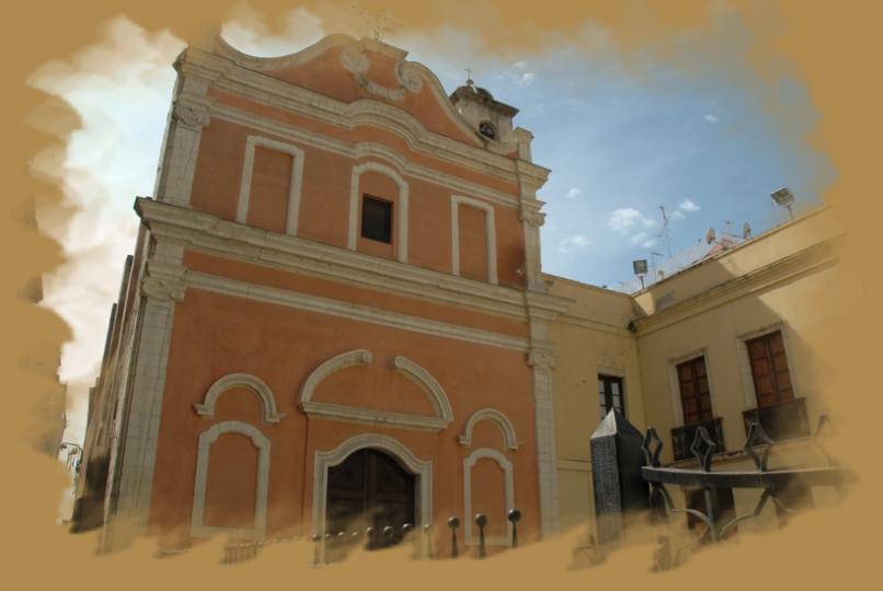 Chiesa di Sant'Efisio Cagliari rione Stampace.