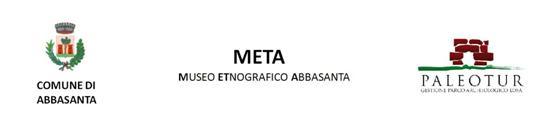 Comune di Abbasanta Meta ETnografico Abbasanta Cooperativa Paleotur