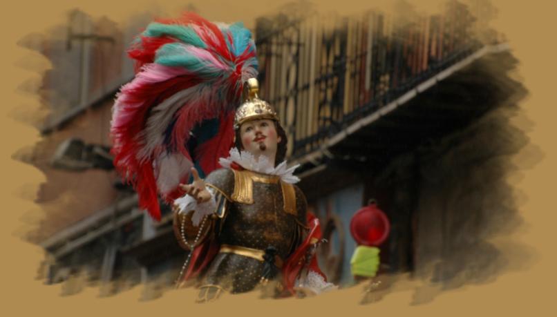 Giovedì 15 gennaio 2015 il simulacro di Sant'Efisio verrà portato durante la processione del martirio per le strade del centro cittadino di Cagliari per la Passio Sancti Ephisi.