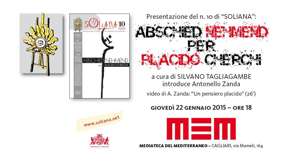 Presentazione del numero 10 di SOLIANA 22 GENNAIO 2015  MEM di Cagliari