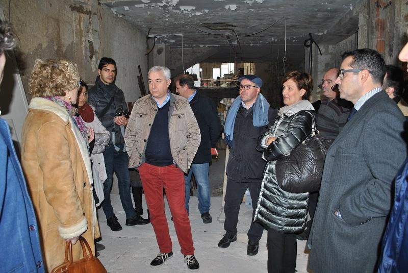 Sassari Ex tipografia Chiarella Le opere di ristrutturazione si erano interrotte per la campagna di scavi che ha portato alla luce i resti del carcere di San Leonardo che funzionò dal 1300 al 1800