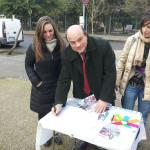 Il Sindaco Nicola Sanna aderisce all'iniziativa degli studenti dell'associazione Esn una firma per #GenerazioneSenzaVoto.