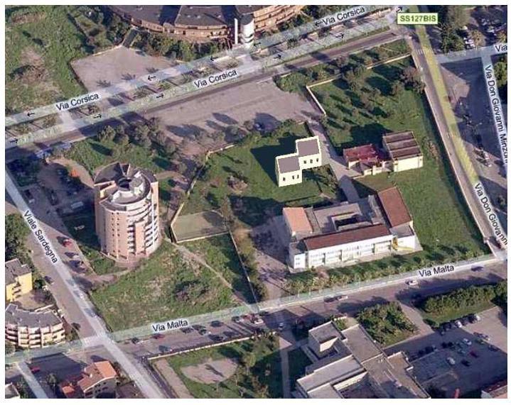 Alghero arrivano da Cagliari 450 mila euro di finanziamento per il micronido alla Pietraia struttura capace di accogliere circa 20 bambini da 0 a 3 anni.  Alghero simulazione fotografica dell'area in cui sorgerà l'asilo.