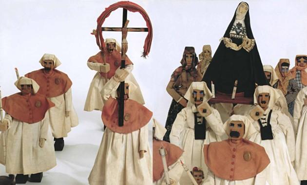 """TAVOLARA PROCESSIONE DEI MISTER 1928. Visitabile fino al 1 marzo 2015 la mostra """"TAVOLARA E DEPERO. Le manifatture delle case d'arte"""" allestita presso il Museo MURATS di Samugheo"""