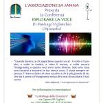 """Cagliari 23 gennaio 2015 al MEM in via Mameli 164 si terrà la conferenza gratuita di Pierluigi Viglierchio (Parivarto) """"Esplorare la voce""""."""