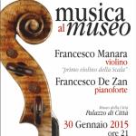 """""""Musica al Museo"""" Sassari dal 30 gennaio sino al 30 maggio 2015 nei palazzi storici della città risuoneranno le melodie della musica classica, jazz, folk, blues e della musica etnica."""