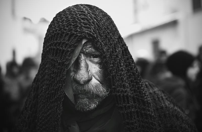 Carnevale della Sardegna foto di Antonio Baldino, maschere di Lula