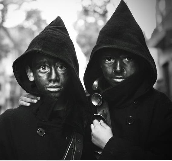 Carnevale della Sardegna foto di Antonio Baldino, maschere di Orotelli
