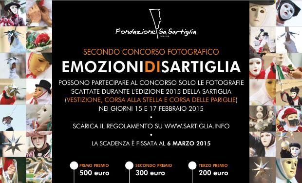 Emozioni di Sartiglia 2015 - Ogni partecipante potrà presentare fino a due foto a colori della Sartiglia 2015.
