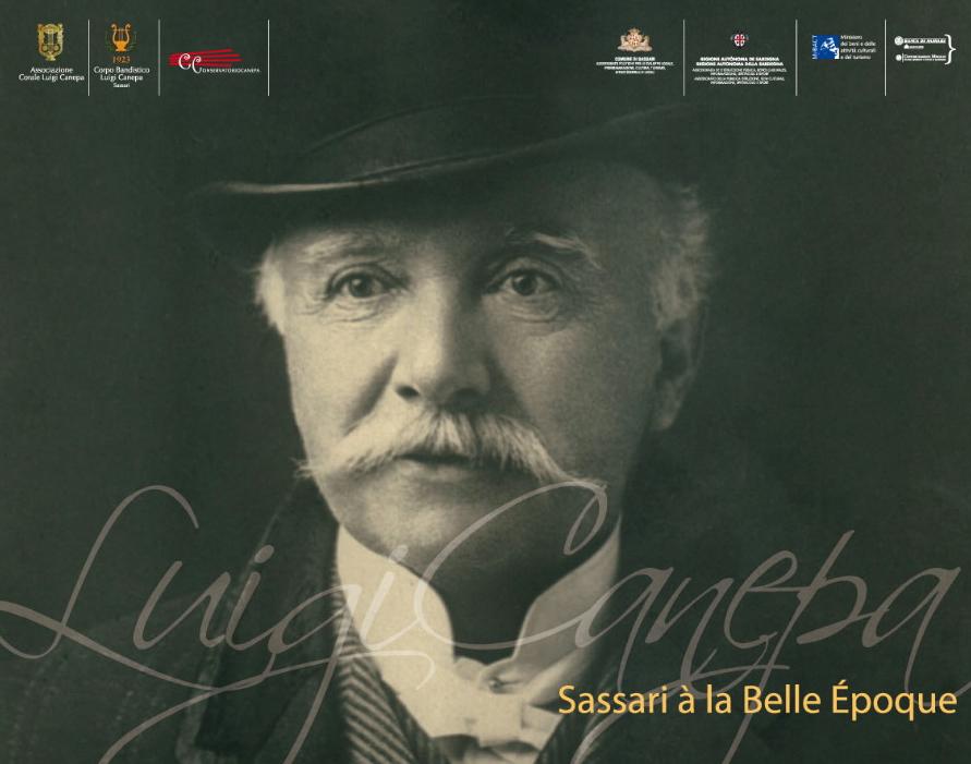 Luigi Canepa. Sassari Celebrazioni per il centenario della Morte del Maestro Luigi Canepa.  Convegno di studi 10 febbraio ore 17 30 Sala Sassu Sassari.   Concerto 14 febbraio ore 21 Teatro Verdi Sassari.