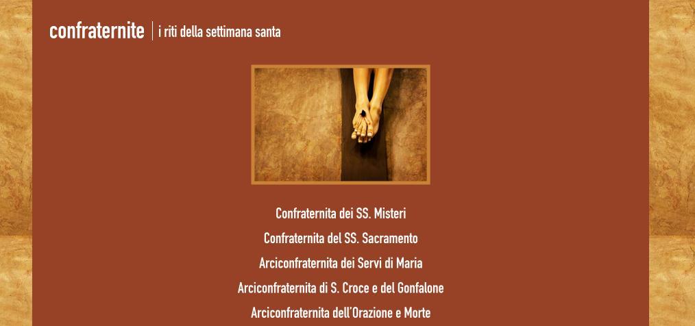 I Riti della Settimana Santa a Sassari Pasqua 2015, le Confraternite informazioni storiche