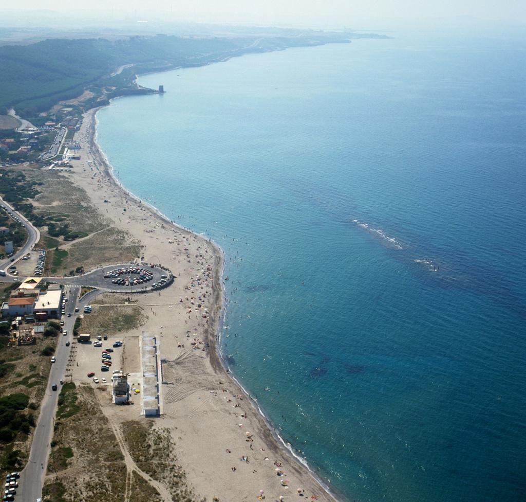 Marina di Sorso veduta aerea di Platamona